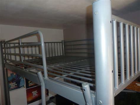 lit mezzanine acier gris offres juillet clasf