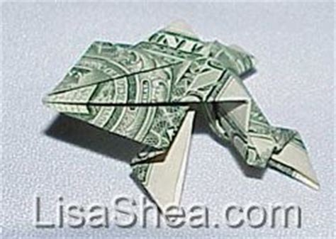 Origami Money Frog - japanese money origami frog s japanese pages