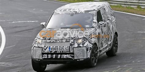 land rover 2017 inside 2017 land rover discovery spied inside and out photos