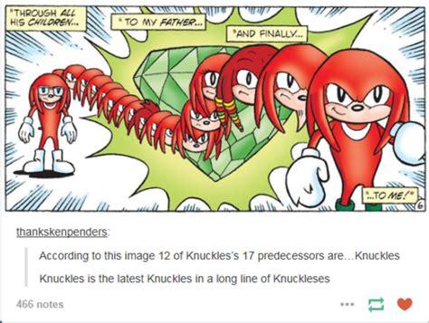 Knuckles Meme - knuckles sonic the hedgehog know your meme