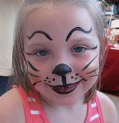 easy face paintings for halloween 10 kids face painting ideas for halloween