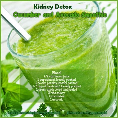 What Is A Kidney Detox by Kidney Detox Smoothie Food Bev S