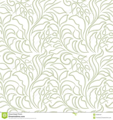 white pattern carpet floral seamless background abstract ornament geometric