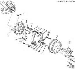 P30 Auto Park Brake System Parts Parking Brake System Prop Shaft