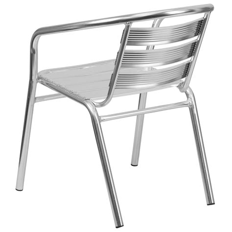 Heavy Duty Outdoor Chairs heavy duty aluminum outdoor restaurant arm chair stackable aluminum chairs chairs direct seating