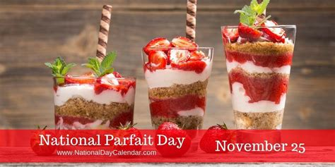 celebrate national parfait day south