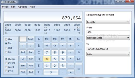 calculator windows 7 vista s windows 7 calculator
