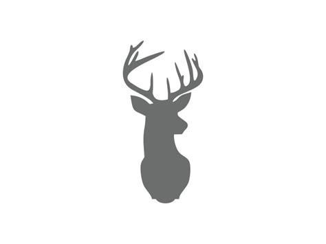 printable stencils deer deer head stencil deer stencil craftcuts com