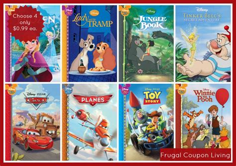 disney world picture book 4 hardcover disney storybooks only 0 99 each free