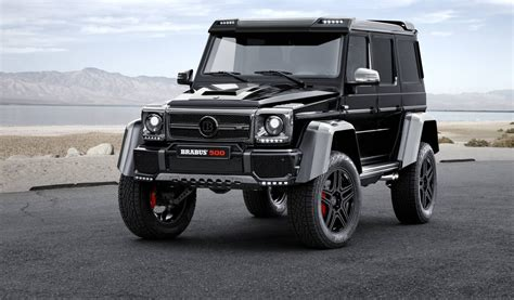 mercedes g500 pickup official brabus mercedes benz g500 4x4 178 gtspirit