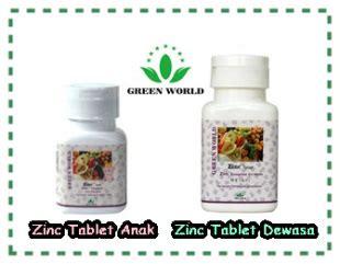 Penambah Hormon Nafsu Makan Zinc Dewasa Green World Original suplemen penambah nafsu makan anak dan dewasa terbaik rumah green world