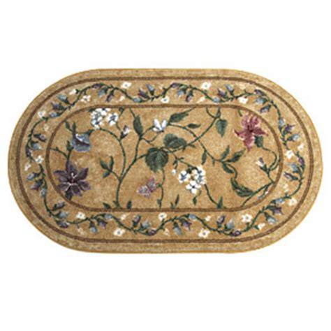 oval accent rugs floral vine oval accent rug boscov s