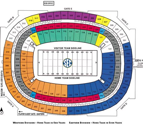 big house section map sec chionship tickets theticketbucket com