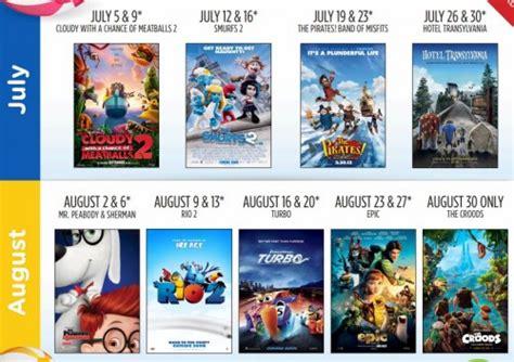 cineplex family favorites 2 50 cineplex family movie tickets free stuff finder canada