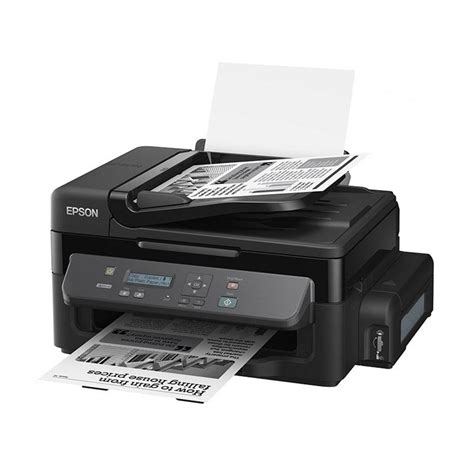 Printer Epson Multifungsi jual epson printer monochrome multifungsi m200 hitam