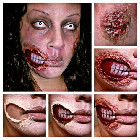 halloween makeup tutorial liquid latex tru beaut e