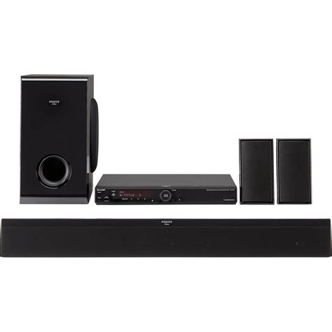 Home Theater Sharp Ht Cn312dvw sharp bd mpc41u disc home theater system bdmpc41 b h