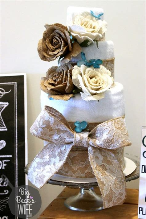 towel cake favors for bridal shower how to make a towel cake for a bridal shower big s