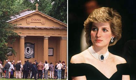 where is princess diana buried wiping out diana earl spencer releases althorp estate