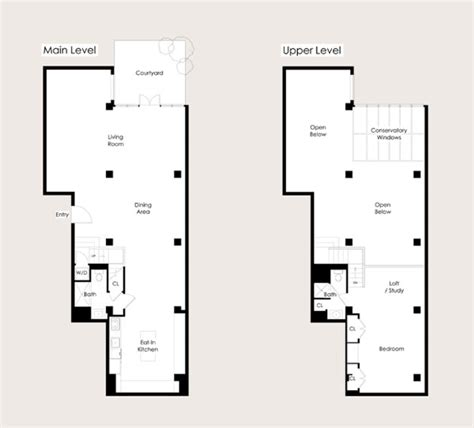 industrial loft floor plans imposing loft design in san francisco by steven volpe