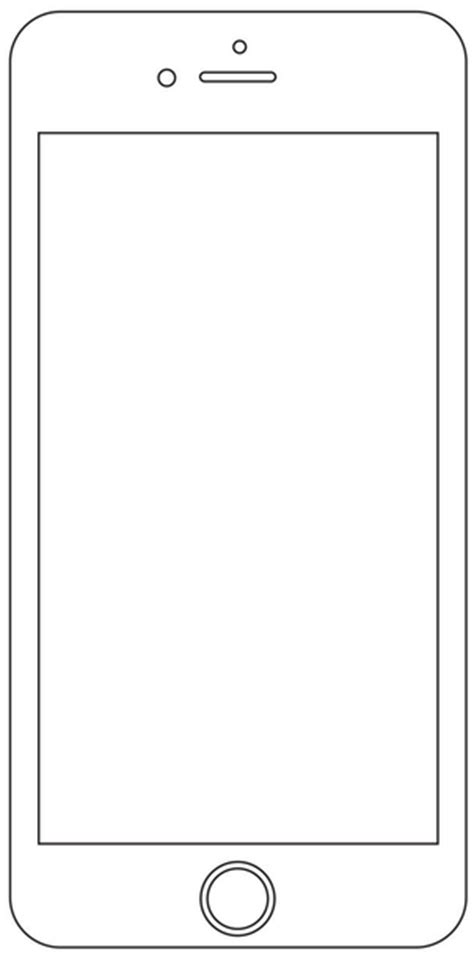 coloring page iphone iphone coloring page coloring home