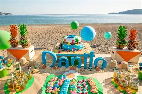 juegos decorar la playa fiesta tropical en la playa fiestas y cumples