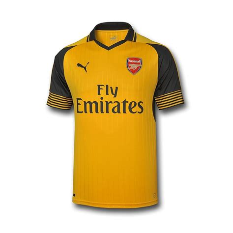 arsenal yellow kit arsenal launch 2016 17 away kits