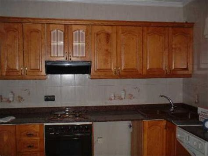 madera castano muebles cocina