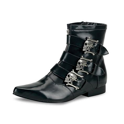 30382 Black Top demonia brogue 06 mens dress boot
