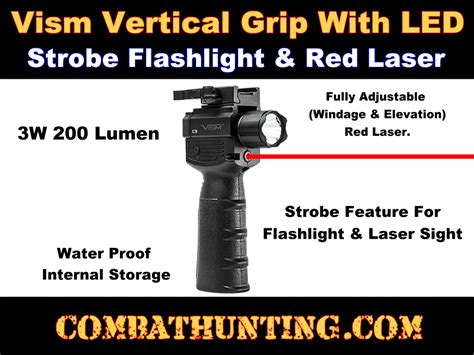 laser and light for ar 15 vaqvgflrv2 ar 15 vertical foregrip with light and red