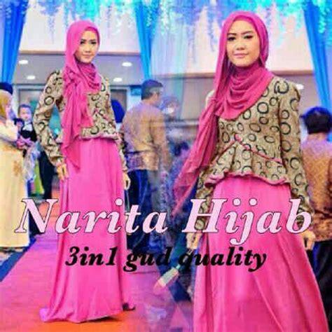 Baju Gamis Modern Murah baju gamis muslim modern cantik model terbaru murah