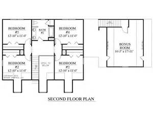 house plans floor master house plan 2341 a montgomery quot a quot second floor plan