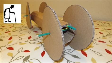 rubber st craft ideas rubber band powered car cardboard and wheels my