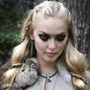 vikings hairstyles customes viking makeup thevikingqueen