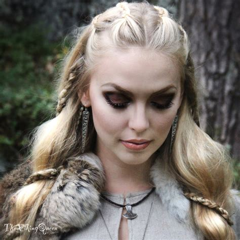 viking hair styles viking makeup thevikingqueen