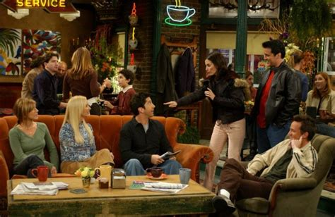 central perk to serve free coffee on friends 20th