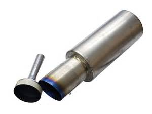 Exhaust System Silencer Exhaust Silencer Power Loss Greddy Ti C Cat Back Exhaust