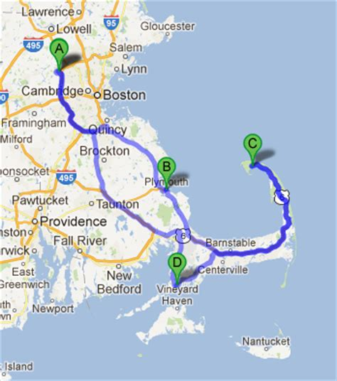 distance from plymouth to cape cod map of boston and cape cod pictures to pin on