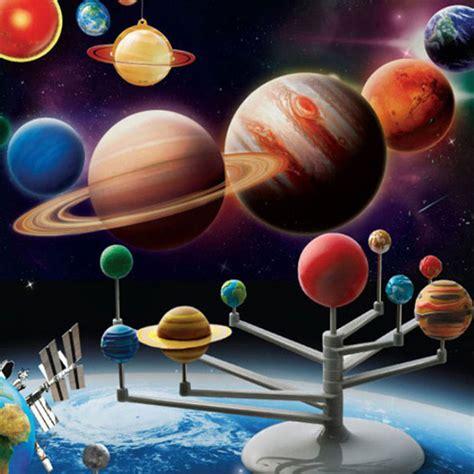 Handmade Science Models - solar system planetarium model kit astronomy science