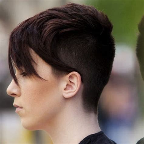 cute long hairstyles with shaved bangs 103 best images about short hair or no hair on pinterest