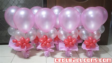 Balon Sablon Pink Souvenir Wedding 1 balloon arrangement debut tierra este 69127