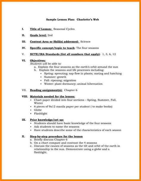 lesson plan template danielson 14 danielson framework lesson plan template farmer resume