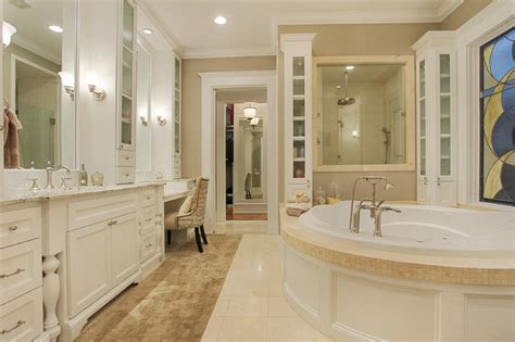 Spanish Home Decorating Ideas by Memorial Hamptons Style Traditional Bathroom Houston