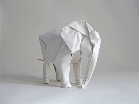 Origami Elephant For - sized elephant origami by sipho mabona