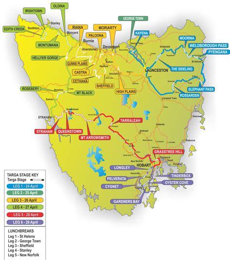printable road map of tasmania tasmania map tasmania trails map tasmania trails map