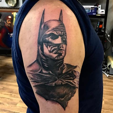 batman tattoo on shoulder 100 best batman symbol tattoo ideas comic superhero 2018