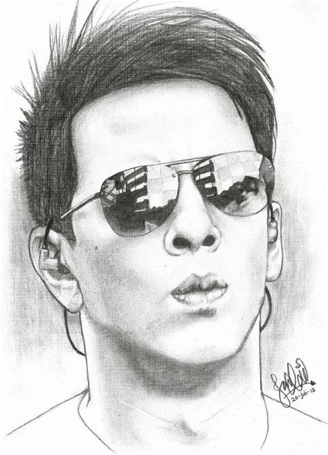 sketsa wajah ariel noah jq sketch