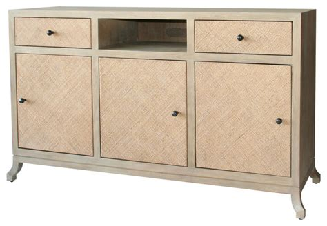 Rattan Sideboards And Buffets ahava 60 quot rattan sideboard porcini modern buffets and sideboards