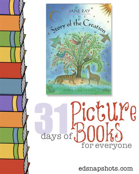 creation story for kids book the story of creation 31 days of picture books