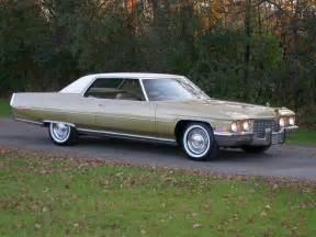 72 Cadillac Sedan 72 Coupe Cadillac